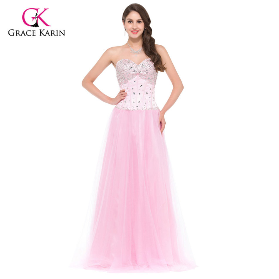 Formal Dresses - EVENING DRESSES/EVENING DRESS/PINK EVENING DRESS ...