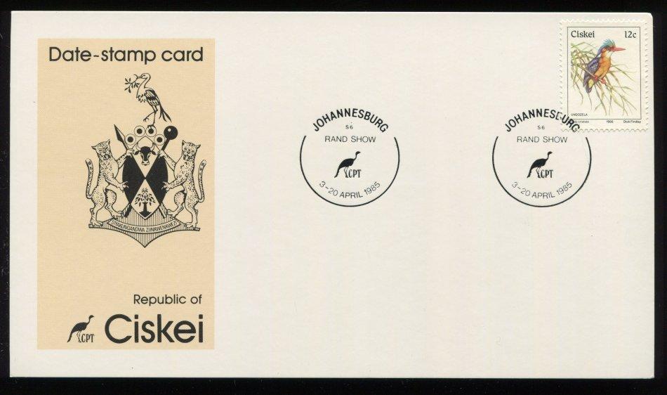 Ciskei - Date Stamp Card