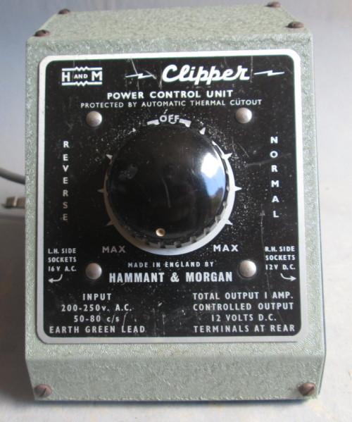 HAMMANT & MORGAN - CLIPPER 12V TRANSFORMER/CONTROLLER (BOXED)