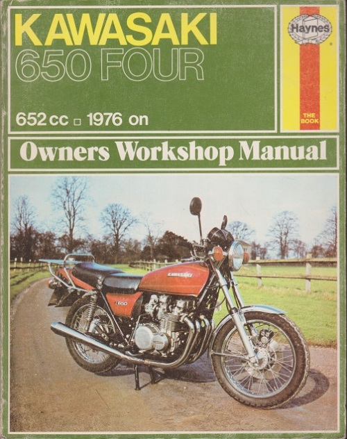 ISBN is 9780856963735 / 0856963739 Kawasaki KZ650, 1976-78 (Haynes Repair  Manuals) by Haynes