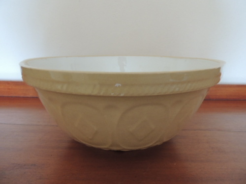 Crockery Vintage Gripstand Mixing Bowl By T G Green For Sale In