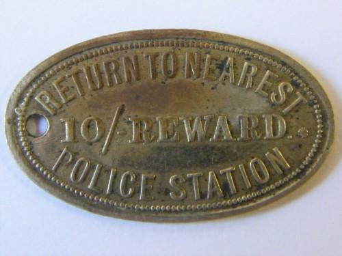 10 Shilling reward token - Union Assurance Society - Scarce