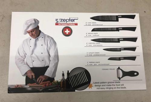Full Cutlery Sets Zepter 6pcs Knife Set Was Listed For