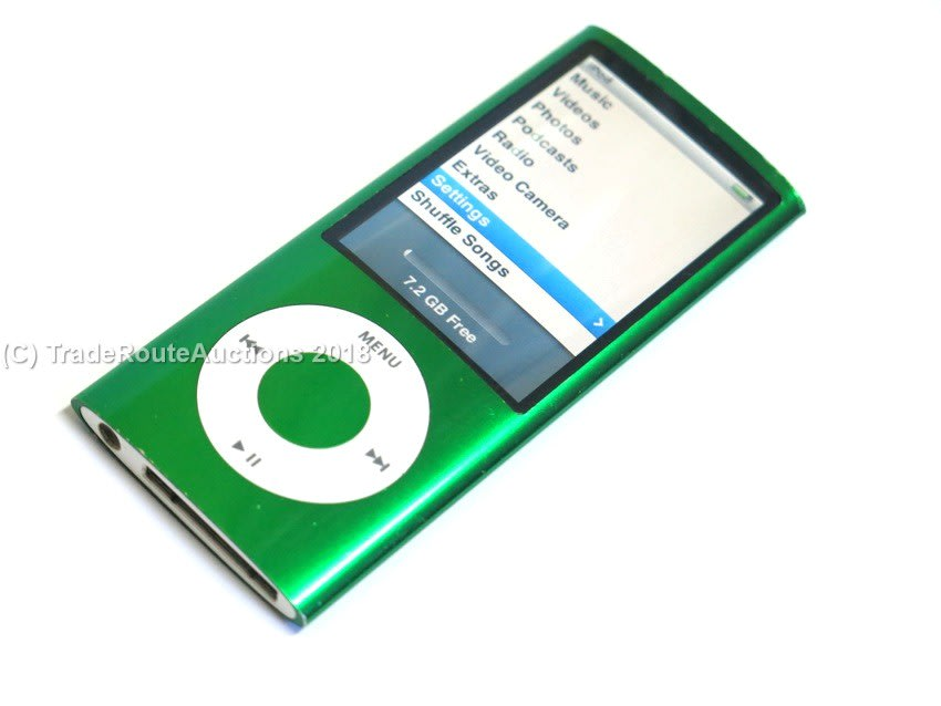 Apple ipods apple ipod nano 4th generation 8gb a1320 mc040 apple ipod nano 4th generation 8gb a1320 mc040 green camera fandeluxe Gallery
