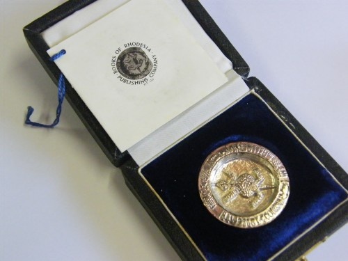 Rhodesia Silver reconstruction of the Bavenda Divining Bowl - No 432 of only 1000 made