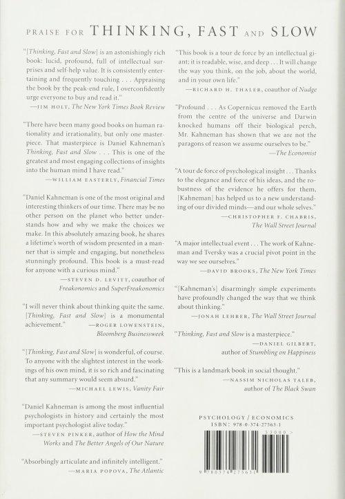 Self Help & Psychology - Daniel Kahneman: Thinking Fast