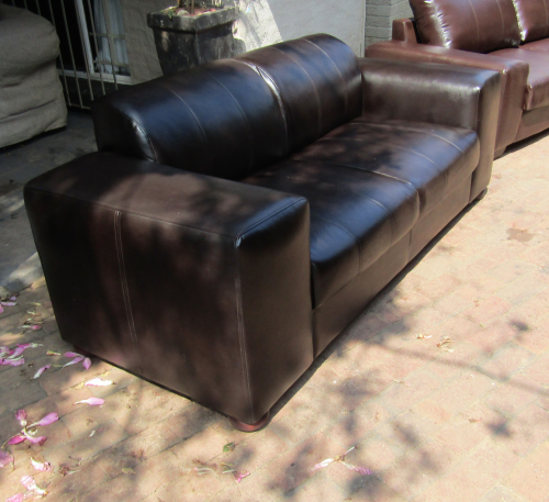 Couches Amp Chairs Coricraft Terry Leather 3 Seater Sofa