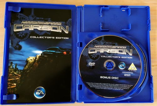 Games - Need For Speed Carbon Collector's edition (PS2) was