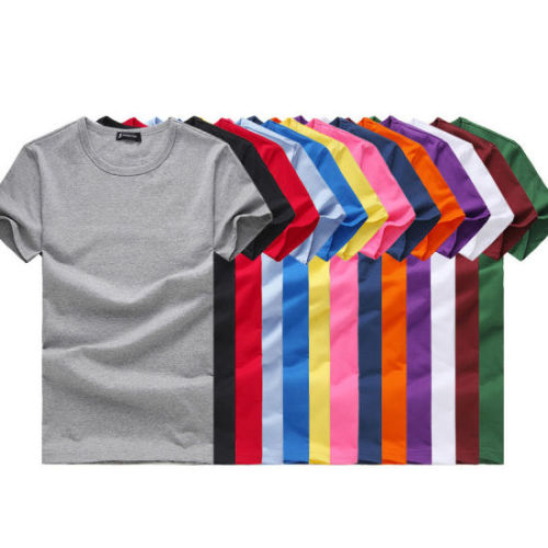 great deals 2017 real deal marketable 180g Bulk Plain T-Shirts in Various Colors and Different Sizes