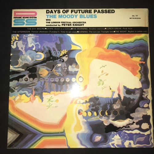 The Moody Blues - Days Of Future Passed (LP) Vinyl Record (2nd Album)