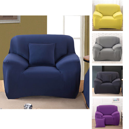 Lounge Suites 1 Seater Stretch Lounge Cover Sofa