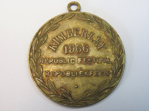1966 Kimberly Republic festival medallion