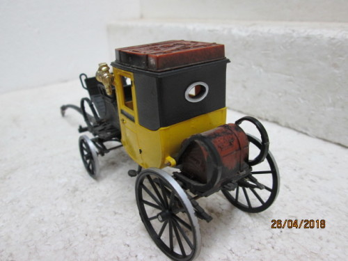 Models Die Cast 1 43 Scale Brumm Old Timer Horse Drawn