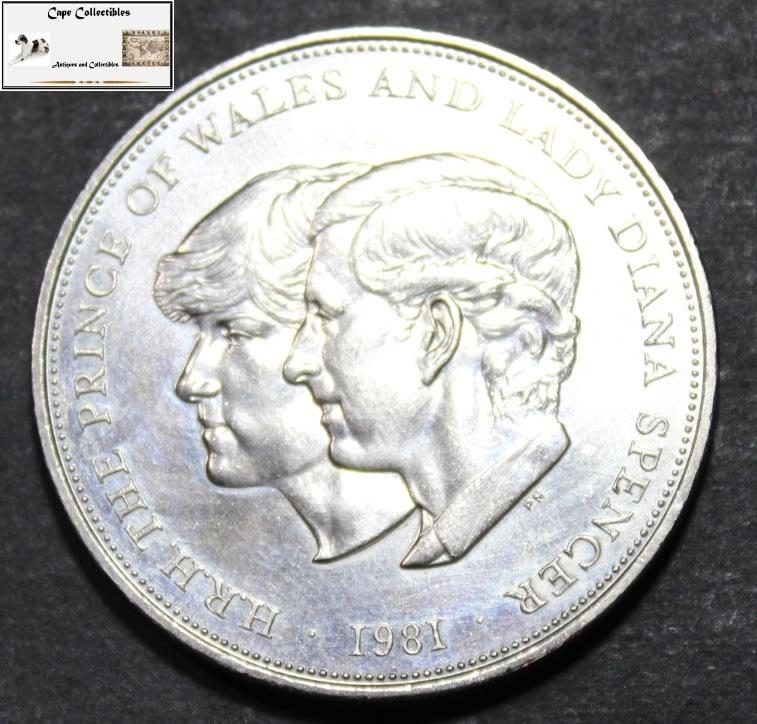 prince charles diana wedding coin