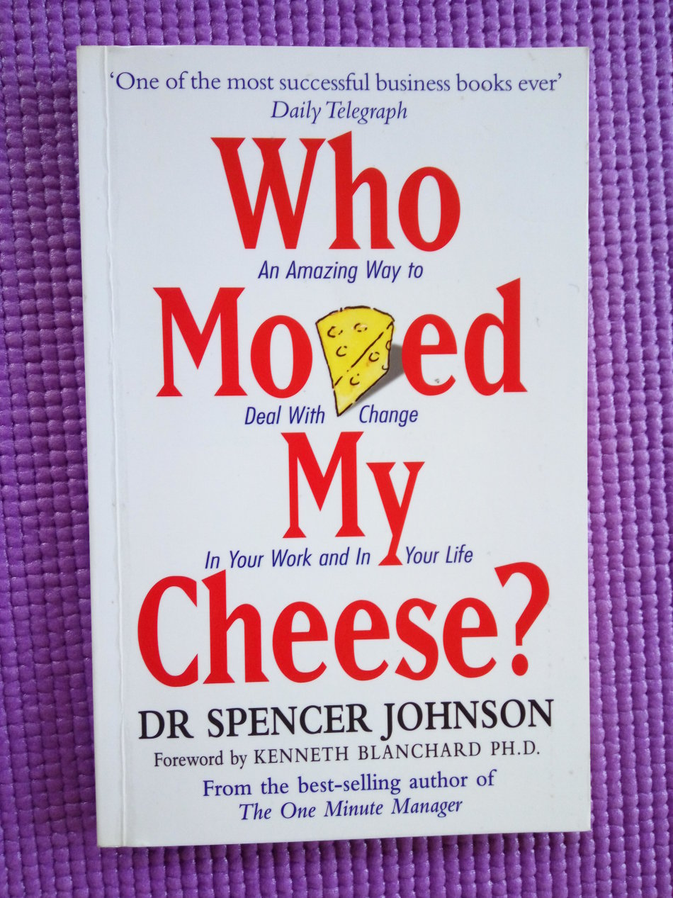 who moved my cheese metaphor