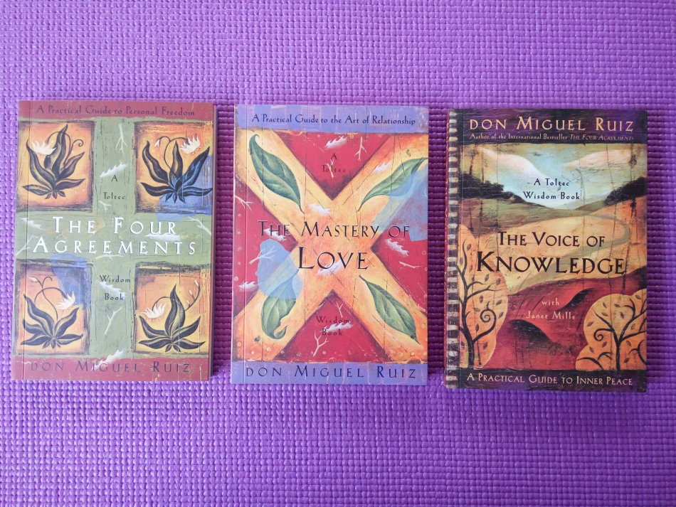 Self Help Psychology The Four Agreements 3 Book Set By Don