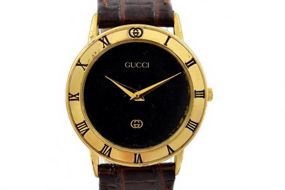 ffd125fc858 Rare   Collectible Watches - Vintage Gucci 3000J Gold Plated Quartz ...