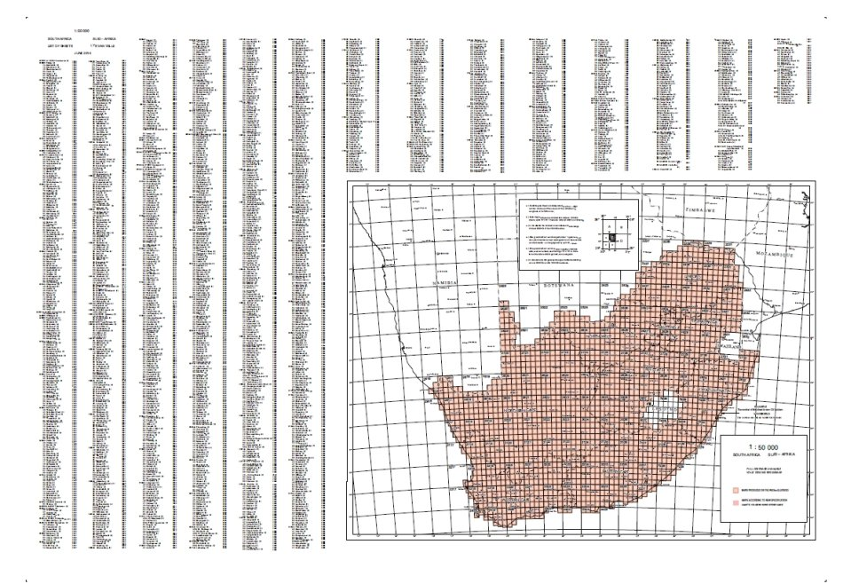 Grid Ref Finder >> South African Travel & Geography - Full Set of SA Topographical Maps on 32GB USB Flash Drive was ...