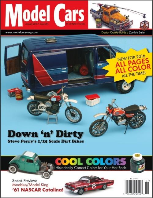 E-Book Magazine(Model Cars January 2016)