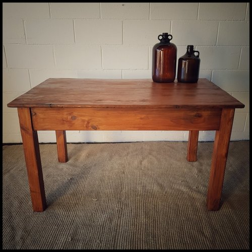 Tables - **RS17** Lovely wooden dining/ work table with a ...