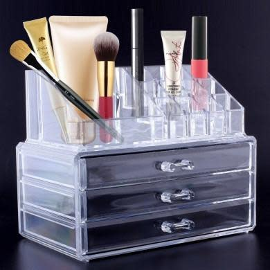 Multipurpose Transparent Make Up Storage
