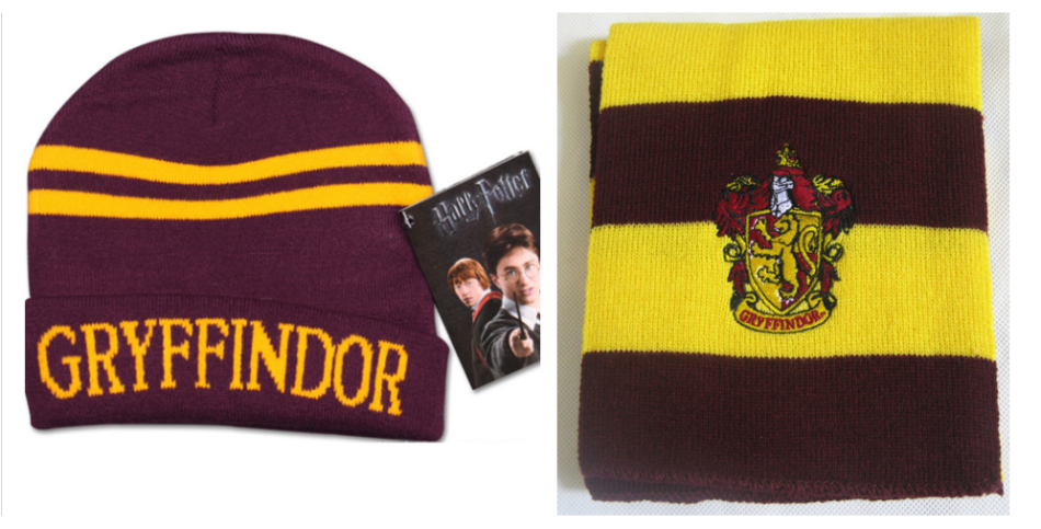 9520d108b55 Other Accessories - Harry Potter Gryffindor Scarf and Beanie Combo ...