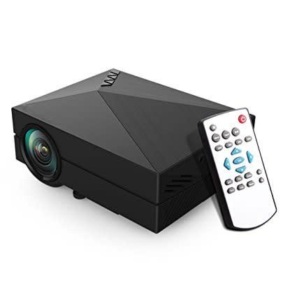 Abdtech Wireless LED Mini Projector 1000 Lumens Multimedia Home Theater  projectors