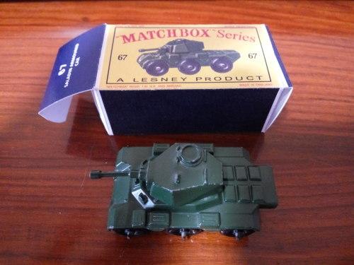 MATCHBOX LESNEY NO 67 Saladin Armoured Car