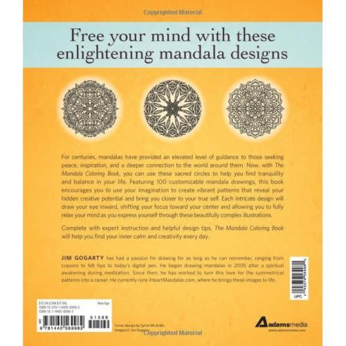 The Mandala Coloring Book Volume II Relax Calm Your Mind And Find Peace