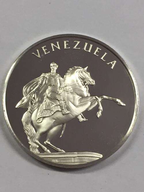 Commemorative Venezuela United Nations Proof Sterling