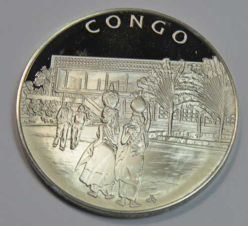 Other Congo United Nations Proof Sterling Silver