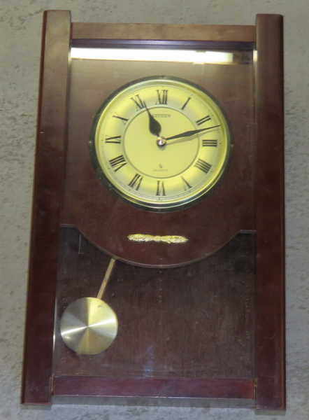 Cuckoo Amp Wall Clocks Vintage Citizen Quartz Pendulum