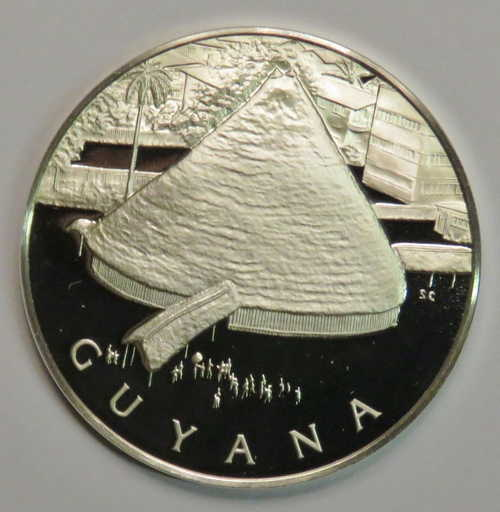 Other Guyana United Nations Sterling Silver Medallion