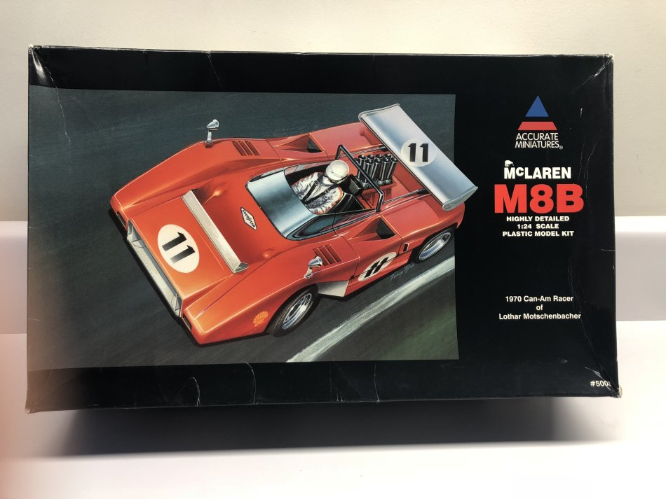 cars & trucks - accurate miniatures 1/18 mclaren m8b highly detailed