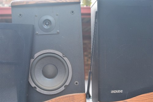speakers advent baby iii surround 2 x speaker set. Black Bedroom Furniture Sets. Home Design Ideas
