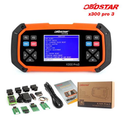 OBDStar X300 Pro3 Basic - Transponder KEY Programmer Including EEPROM Tool  - Mileage Adjustment