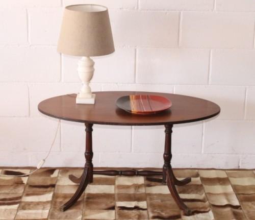 A Wonderful Vintage Regency Style Oval Coffee