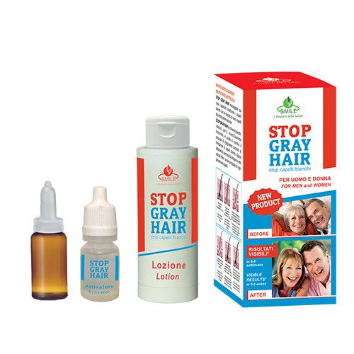 Stop Gray Hair - A scalp treatment kit that fixes your gray hairs at the  root