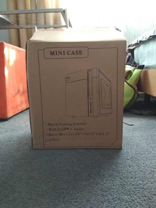 Cases & Towers - XGR Mini PC Case, Updated was sold for R200