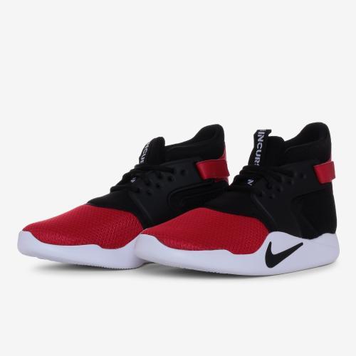 155b8ce24faa Original Mens Nike INCURSION MID UNIVERSITY RED BLACK 917541 600 Size UK 8  (SA 8)