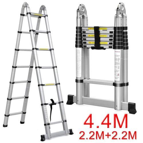 4 4M Telescopic Ladder 2 2M + 2 2M