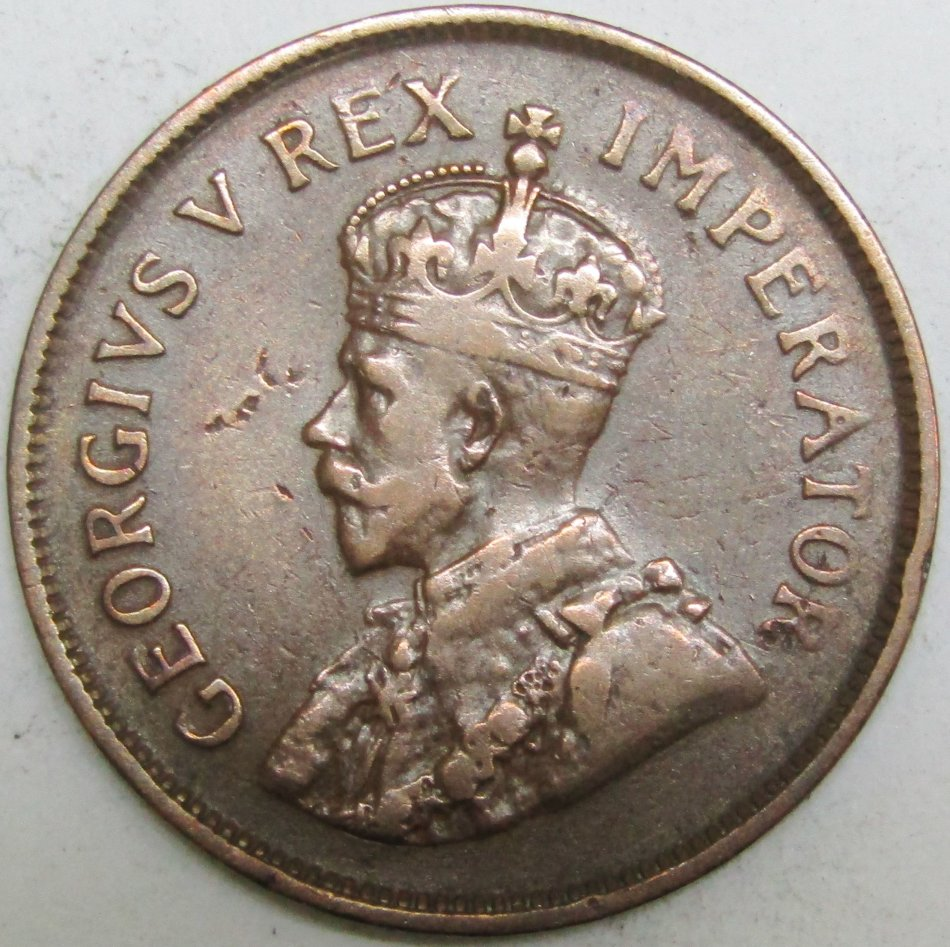 1929 half penny coin value