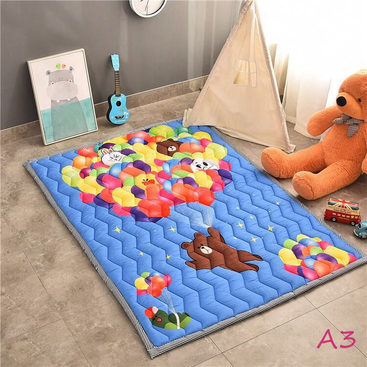 Gym Mats South Africa: Baby Play Mat Cotton Floor Gym
