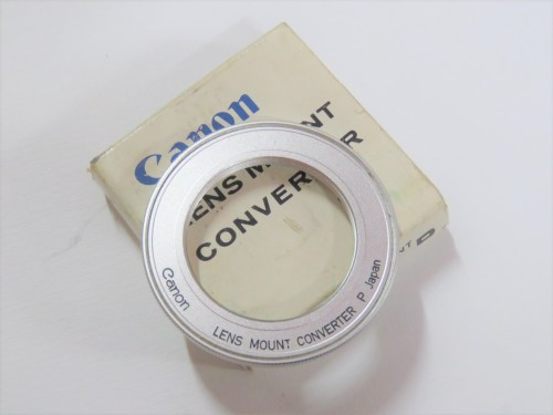 Vintage Canon Lens mount converter P in box