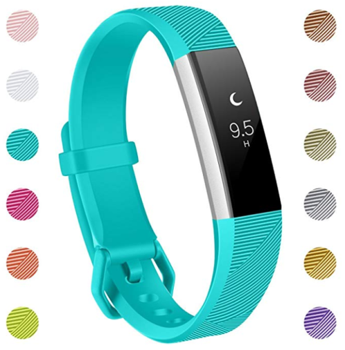 Replacement Accessories Bands for Fitbit Alta/Alta HR and Fitbit Ace -Teal  SMALL