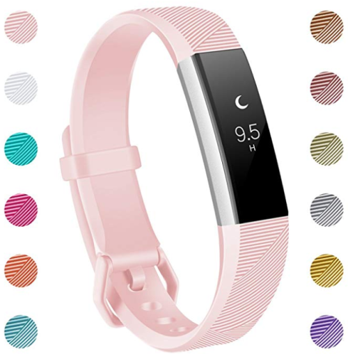 Replacement Accessories Bands for Fitbit Alta/Alta HR and Fitbit Ace - Pink  SMALL