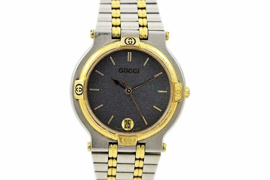 77ed0e6c7e4 Rare   Collectible Watches - Vintage Gucci 9000M Stainless Steel Two ...