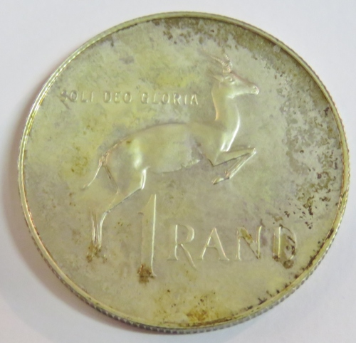1980 RSA Proof R1 1980 with part of ear missing