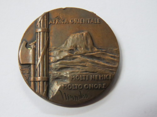 WW2 Italy medal for campaign in Ethiopia