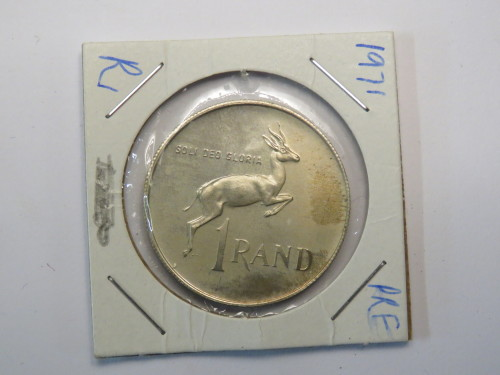 1971 Proof R1 - Only 12000 minted and most melted